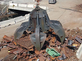 Scrap Metal Recycling Demolition