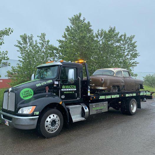 recycling metal junk cars